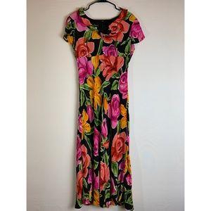 Donna Morgan Floral Long Dress
